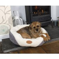Hundekorb Cozy mit Norfolk Terrier