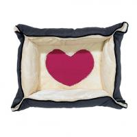 Hundedecke / -bett 2-in-1 Heart