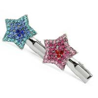Hundehaarspange Brilliance Star - Stern mit Strass