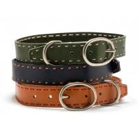 Hundehalsband Laced Leather aus Leder
