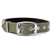 Hundehalsband Tweed in L