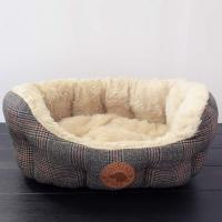 Hundekorb Tweed Small