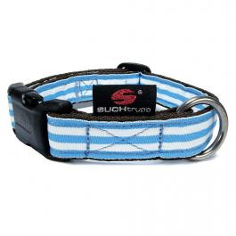 Hundehalsband Stripes - Blue Shades