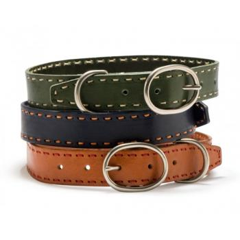 Hundehalsband aus Leder - Laced Leather Collection