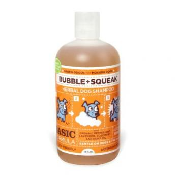 Hundeshampoo - Bubble + Squeak Organic - 355 ml