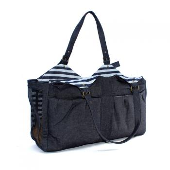 Hundetragetasche - Denim Bag